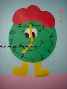 clock craft for kids