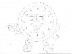 clock trace craft,