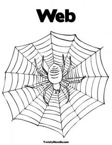 cobweb coloring