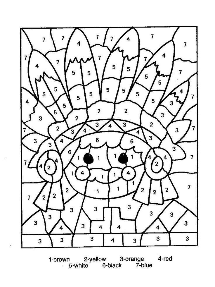 color_by_numbers_indian_worksheet