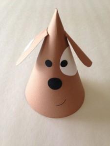 cone shaped dog craft