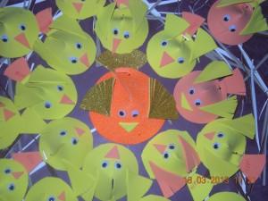 cone_shaped_bird _craft
