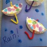 cupcake cap umbrella craft