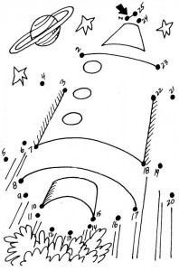 dot to dot rocket worksheet
