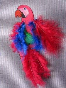 easy parrot craft