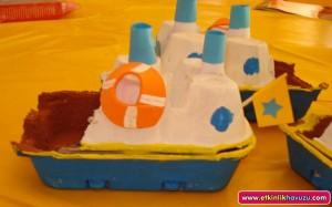 egg carton ship