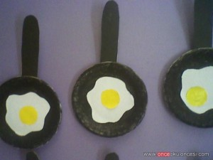 egg craft for kids
