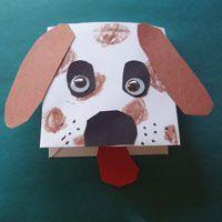 envelope dog craft