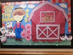 farm unit bulletin board