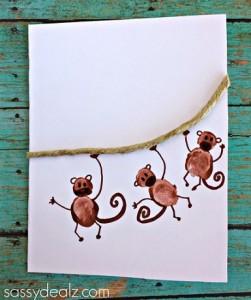 fingerprint monkey craft