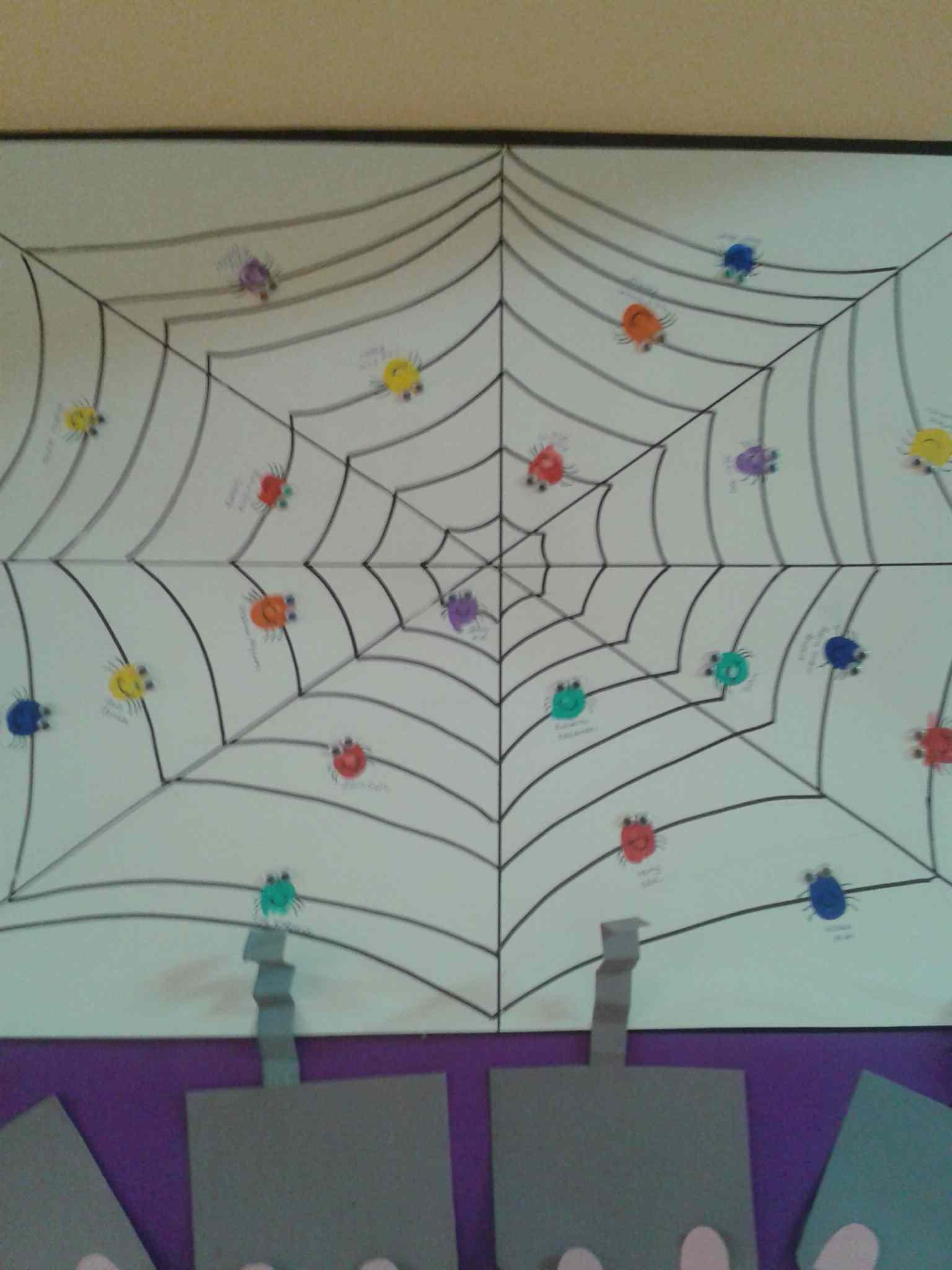 fingerprint spider craft