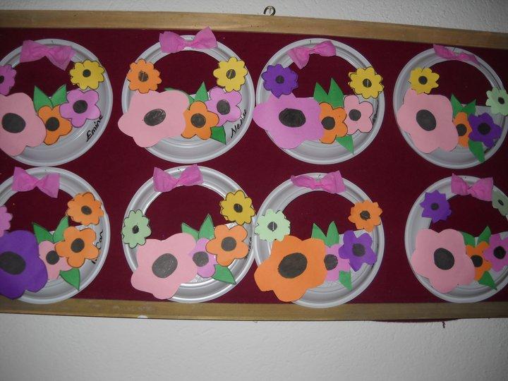 flower basket craft
