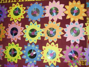 flower clock craft for kids