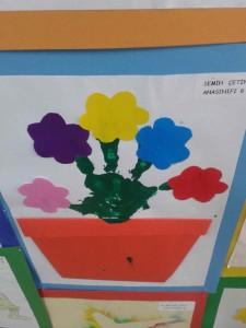 flower craft idea for kids