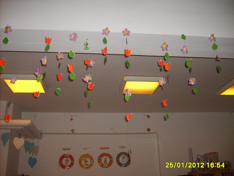 flower mobile craft