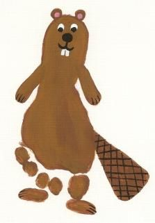footprint beaver craft