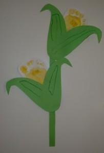 footprint corn craft