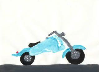 footprint motorcyle craft