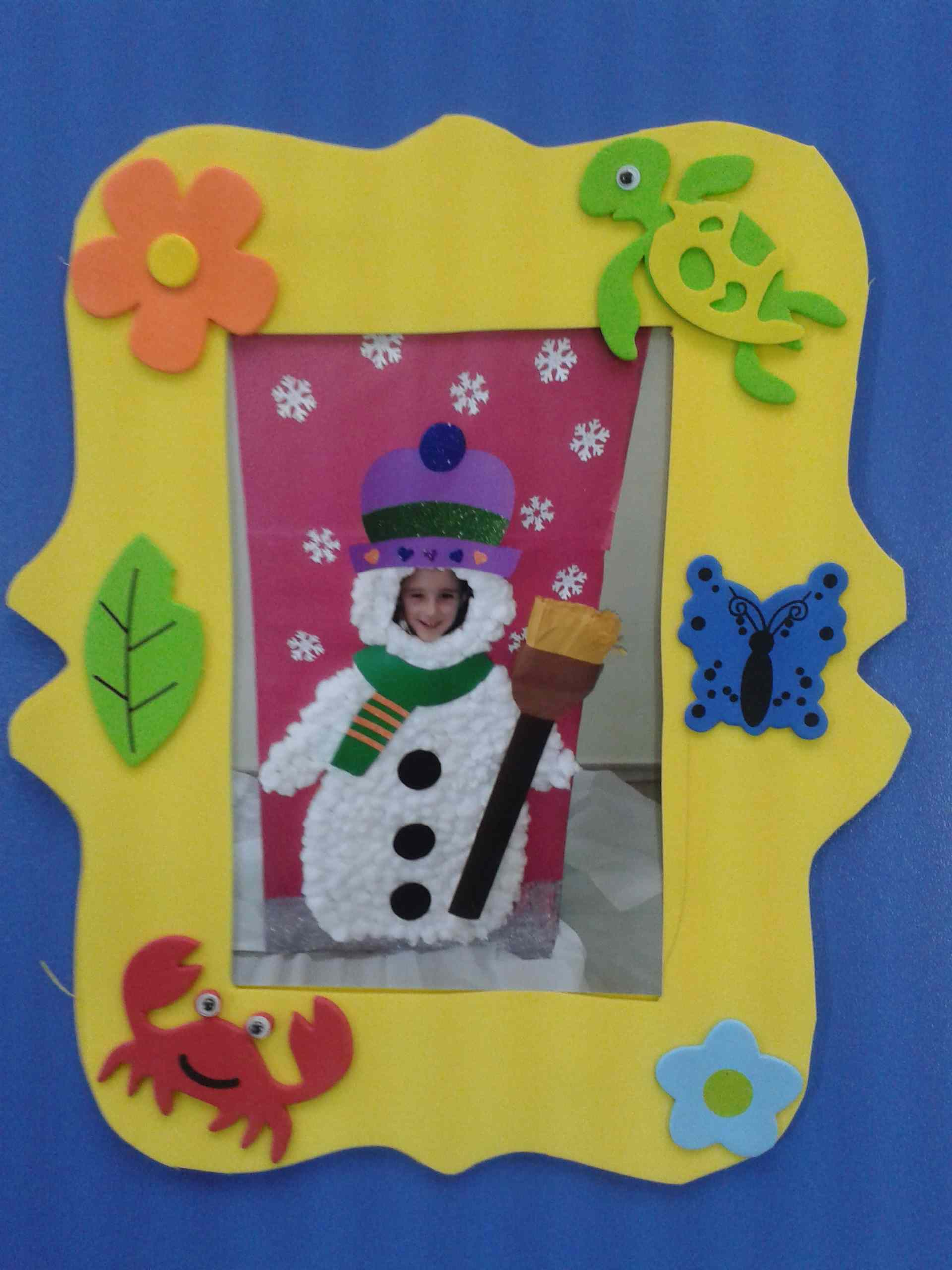 Frame craft idea for kids   Crafts and Worksheets for ...