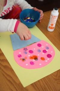 free Cupcake Craft for Kids