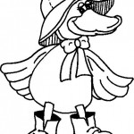 free duck coloring page for kids (26)