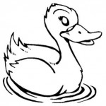 free duck coloring page for kids (27)