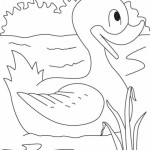free duck coloring page for kids (41)