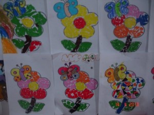 free flower craft for kids