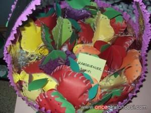 free fruit basket craft 1