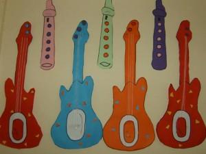 free guitar craft for kids