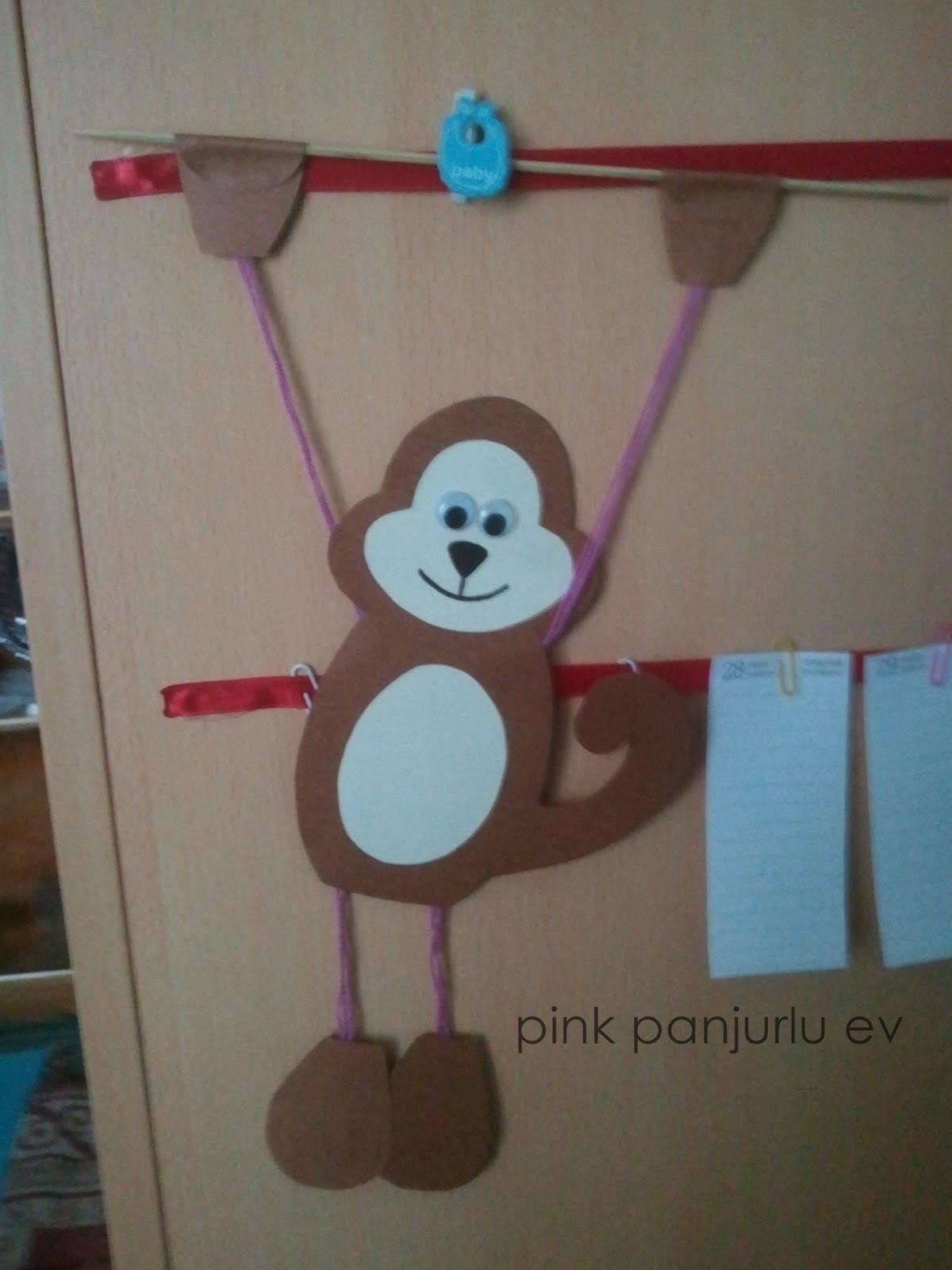 free monkey craft for kids