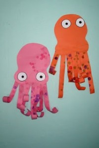 free paper octopus craft idea for kids (4)