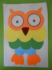 free paper owl craft