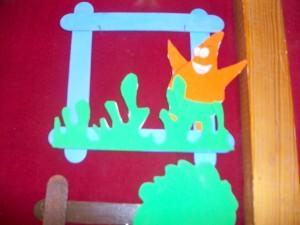 free popsicle stick frame craft (3)