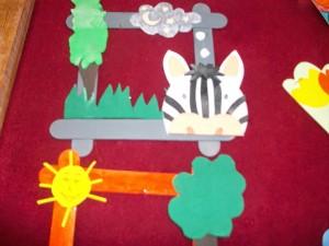 free popsicle stick frame craft (5)