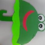frog umbrella craft
