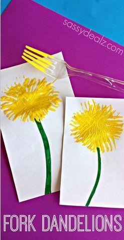 frokprint flower craft