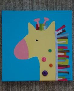 giraffe crafts for kid