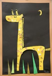 giraffe crafts for kids