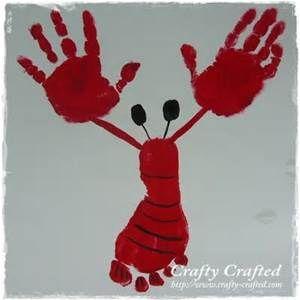 handprint and footprint lobster