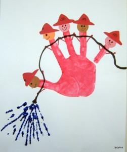 handprint fireman