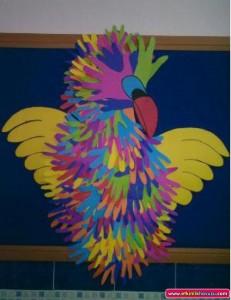 handprint_parrot_craft_for_kids