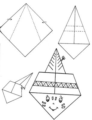 indian origami craft