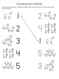 match animal worksheet
