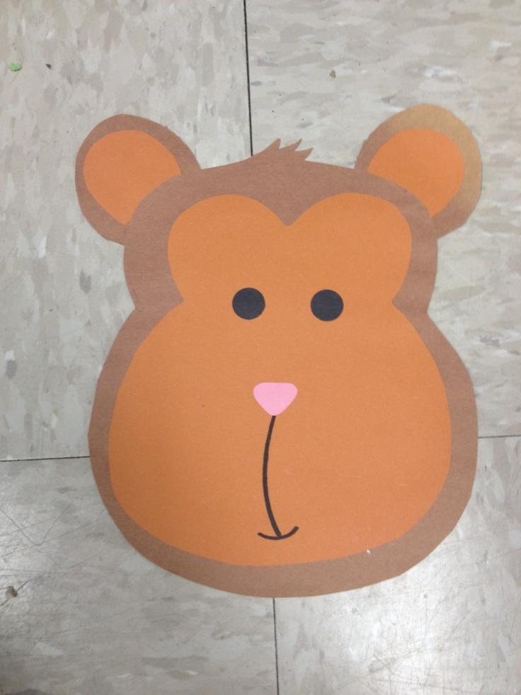 monkey craft for kids