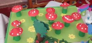 mushroom bulletin board