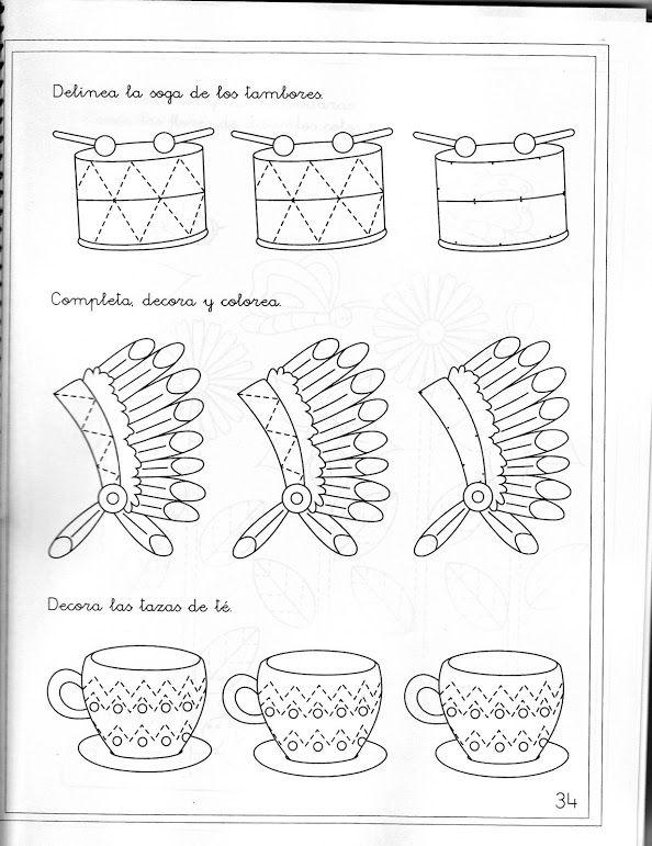 native american trace worksheet (3)