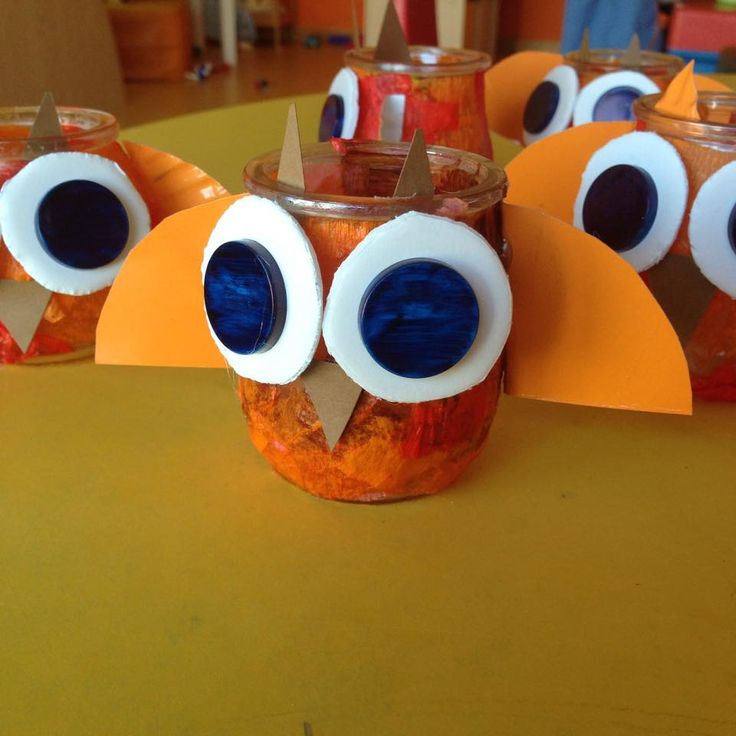 paper cup owl craft