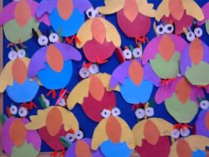 paper parrot craft