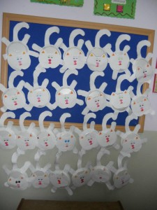 paper plate cat craft idea for kids